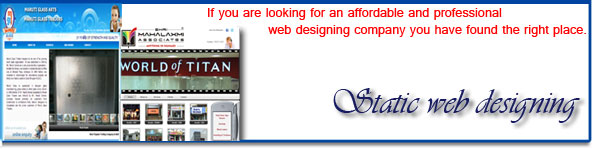 Static Website Design Kolhapur
