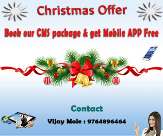 Book our CMS package & get Mobile APP Free